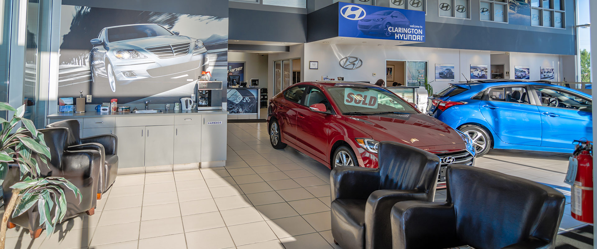 Clarington Hyundai Showroom 1