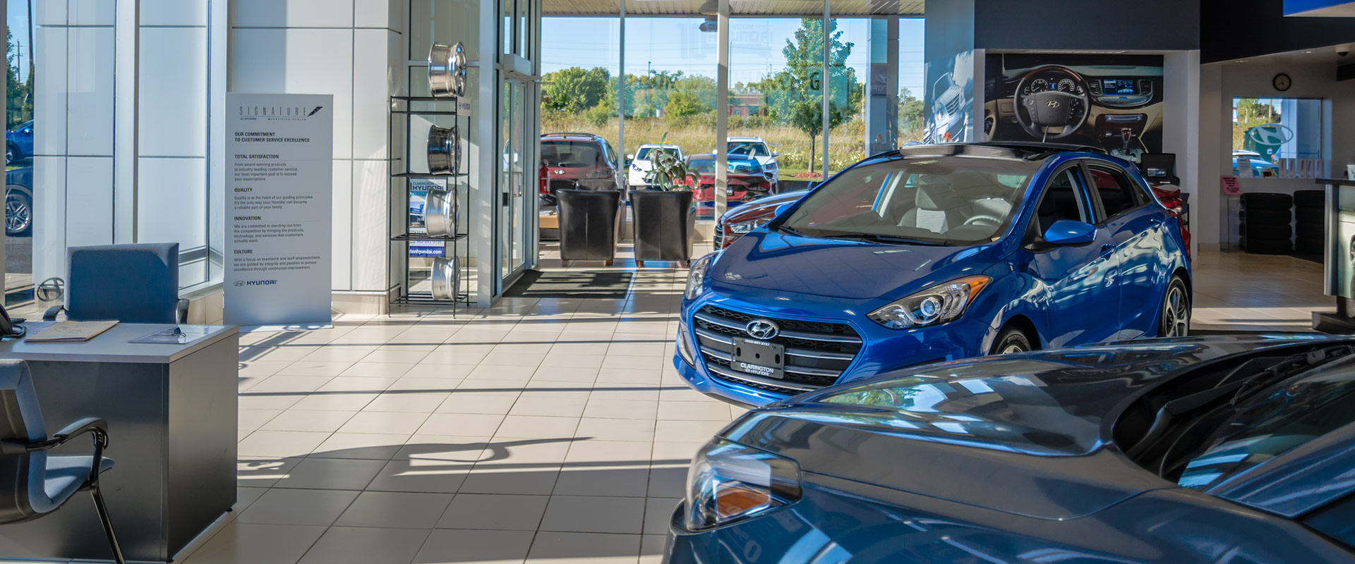 Clarington Hyundai Showroom 2