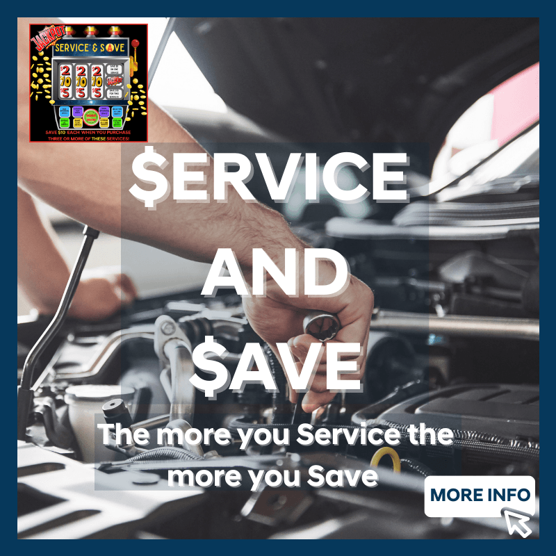 Service and Save event