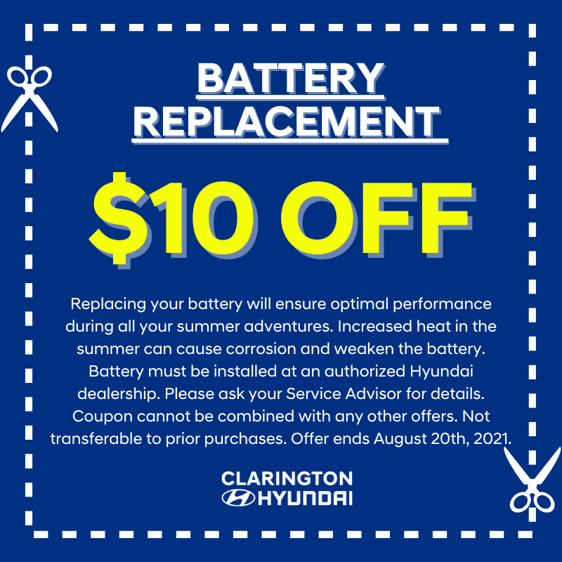 Battery Replacement Discount